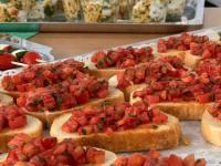 Bruschetta, Couscoussalat